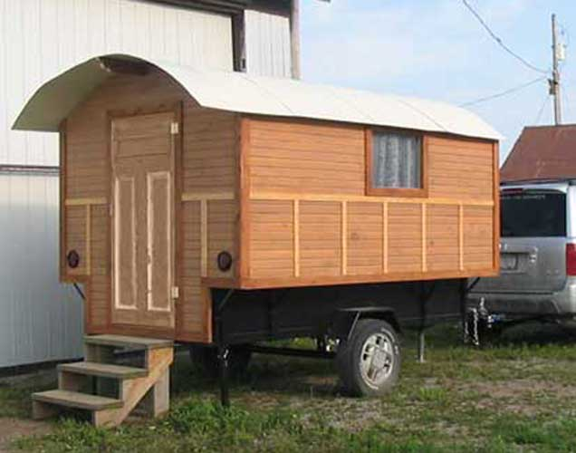 Gypsy Wagon Floor Plans Gypsy Wagon Plans